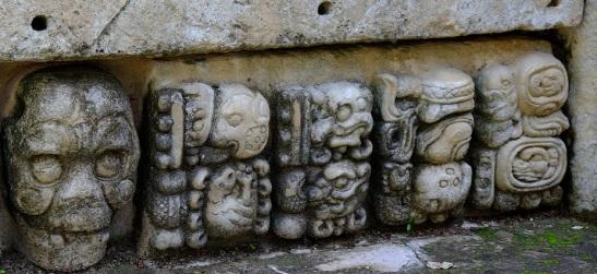 6-Mayan glyphs at Copan