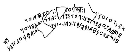 Nestor cup inscription