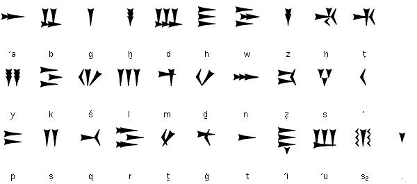krws and Ugaritic Cuneiform