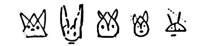 Cats in the Aegean Scripts