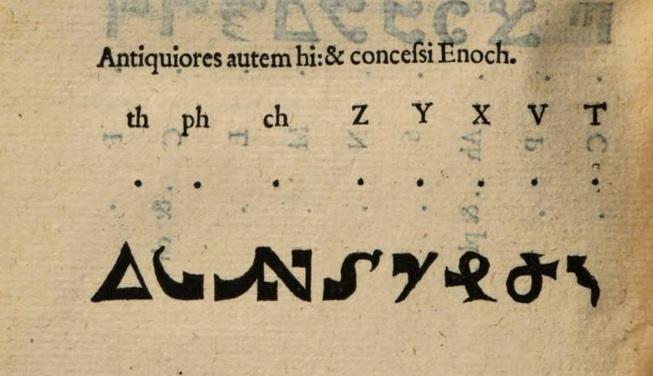 Reading the Runes: Writing Systems for Wizardry and Witchcraft