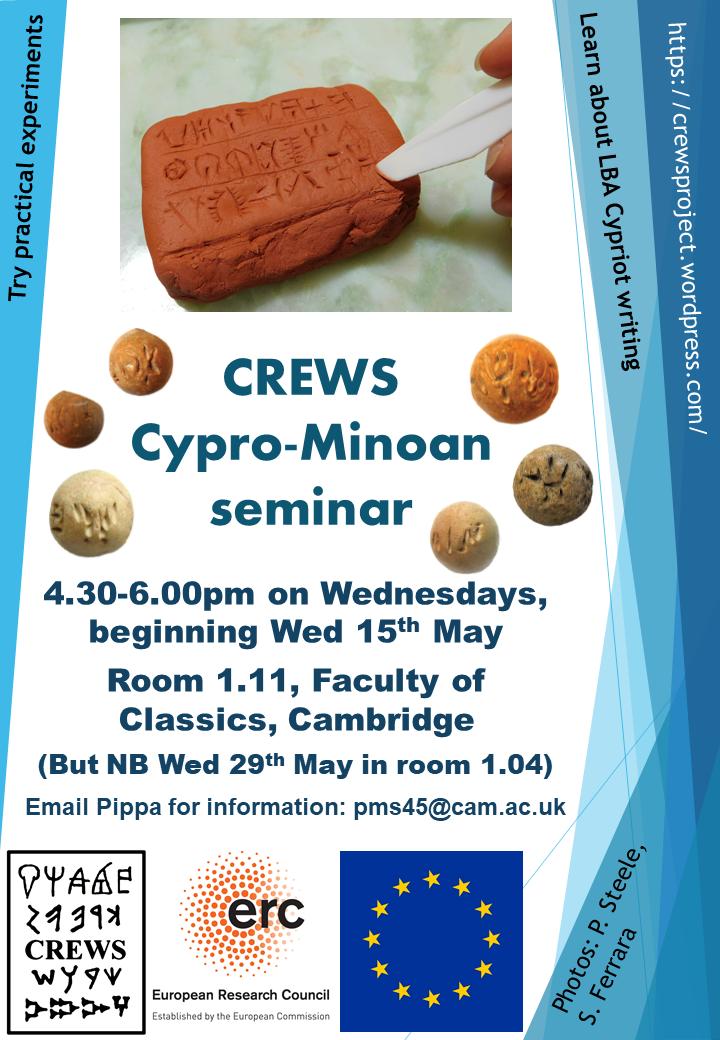 CREWS CM seminar poster